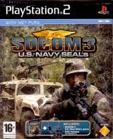 Игра SOCOM 3: U.S. Navy SEALs + Гарнитура USB Headset для PS2