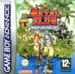 Metal Slug Advance Русская Версия (GBA)
