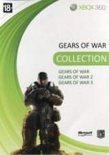 Gears Of War Colletion (Трилогия) Gears Of War 1 Английская версия + Gears Of War 2 Русская версия + Gears Of War 3 Русская версия (Xbox 360)