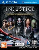 Купить Игру Injustice: Gods Among Us. Ultimate Edition Русская Версия (PS Vita) для PS Vita
