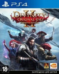 Игра Divinity: Original Sin 2 (II) Definitive Edition Русская Версия (PS4) Playstation 4