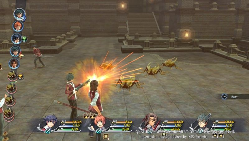 The Legend of Heroes: Trails of Cold Steel (PS3)