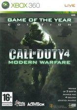 Игра Call of Duty 4: Modern Warfare Game of the Year Edition для Xbox 360
