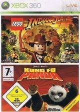 LEGO Indiana Jones / Kung Fu Panda (Xbox 360) USED Б/У