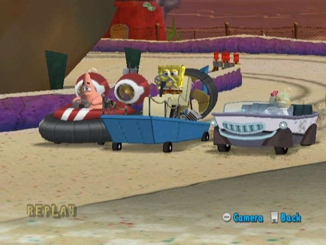 Купить игру SpongeBob SquarePants Boating Bash (Wii/WiiU) на Nintendo Wii диск