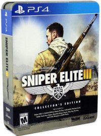 Купить Игру Sniper Elite 3 (III) Collector's Edition (PS4) на Playstation 4 диск