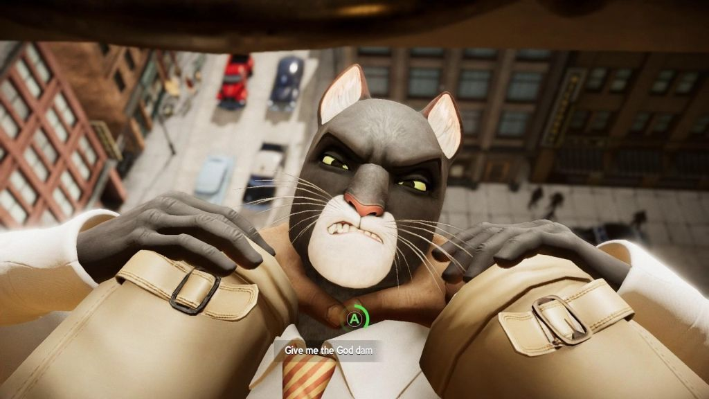 Blacksad: Under The Skin Limited Edition Русская версия (PS4)