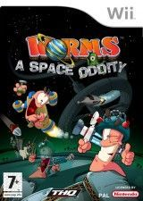 Купить игру Worms (Червячки) a Space Oddity (Wii/WiiU) USED Б/У на Nintendo Wii диск