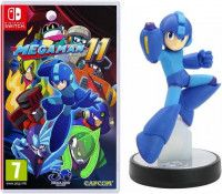 Mega Man: 11 + Amiibo: Интерактивная фигурка Мегамен (Mega Man) (Switch)