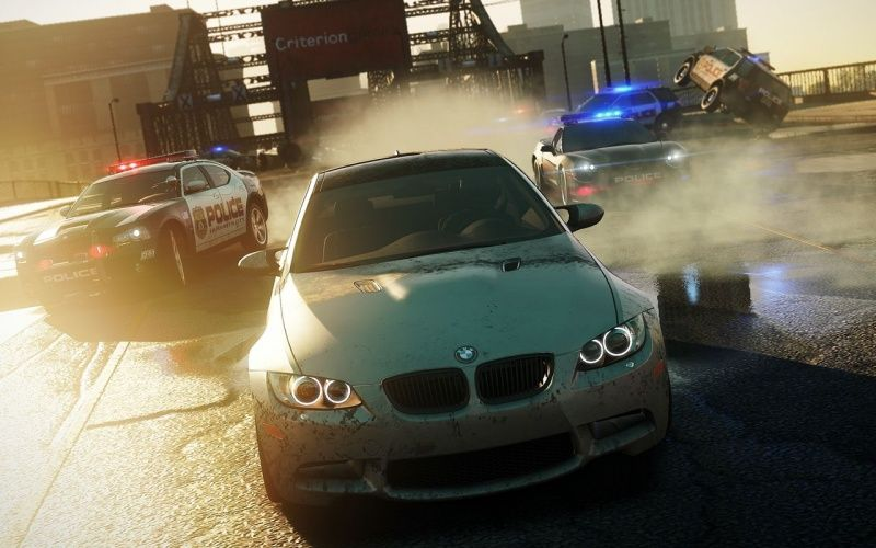 Need for Speed: Most Wanted 2012 (Criterion) (с поддержкой Kinect) (Xbox 360)