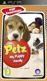 Petz: My Puppy Family Essentials Русская версия (PSP)
