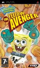 Игра SpongeBob Squarepants: The Yellow Avenger для Sony PSP