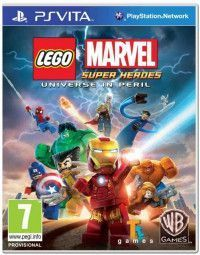 LEGO Marvel: Super Heroes Русская Версия (PS Vita)