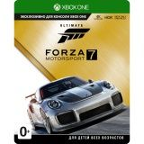 Купить Игру Forza Motorsport 7: Ultimate Edition Русская Версия (Xbox One) на Xbox One диск