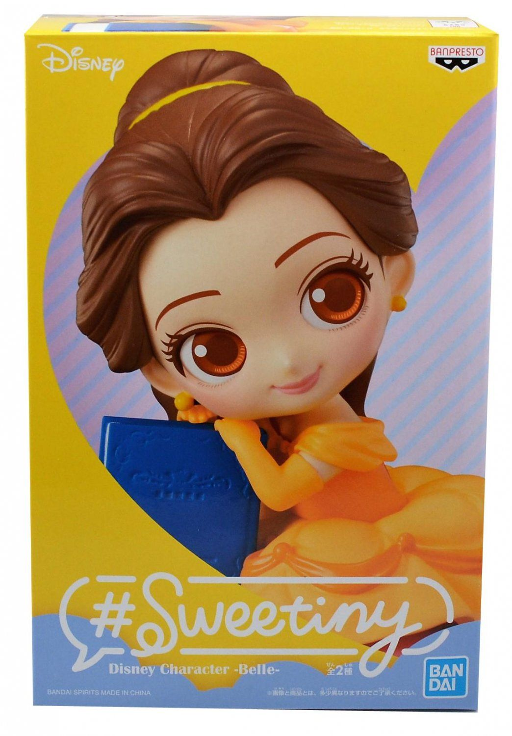 Фигурка Banpresto Sweetiny Disney Characters: Красавица и чудовище (Beauty & The Beast) Белль Версия А (Belle Ver A) (85659P) 10 см