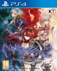 Игра Nights of Azure 2: Bride of the New Moon (PS4) Playstation 4