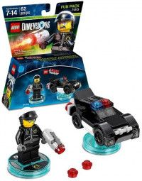 LEGO Dimensions Fun Pack - Lego Movie (Bad Cop, Police Car) Фигурки Lego Dimensions