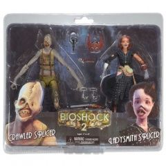 Набор фигурок Bioshock Crawler Splicer and Ladysmith Plicer