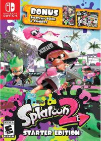 Купить игру Splatoon 2: Starter edition Русская версия (Switch) диск