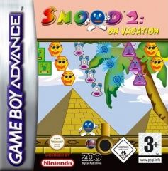 Snood 2: on Vacation Русская Версия (GBA) для Game boy