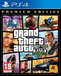 GTA: Grand Theft Auto 5 (V) Premium Edition (PS4)