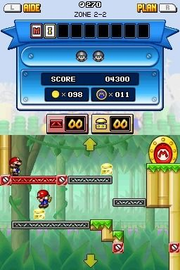 Игра Mario vs. Donkey Kong: Mini-Land Mayhem (DS) для Nintendo DS