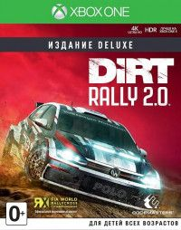 Купить Игру Dirt Rally 2.0 Deluxe Edition (Xbox One) на Xbox One диск
