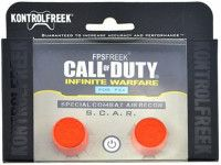 Накладки на стики для геймпада KontrolFreek Grips Call of Duty Infinite Warfare (2 шт) Оранжевые (PS4)