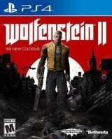 Купить Игру Wolfenstein 2 (II): The New Colossus (PS4) на Playstation 4 диск