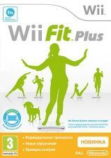 Купить игру Wii Fit Plus (Wii/WiiU) USED Б/У на Nintendo Wii диск