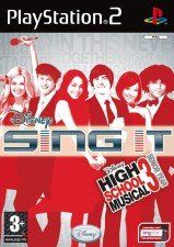 Купить Игру Disney Sing It! High School Musical 3 Senior Year (PS2) для Sony PS2 диск