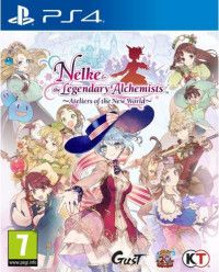 Игра Nelke and the Legendary Alchemists: Ateliers of the New World (PS4) Playstation 4