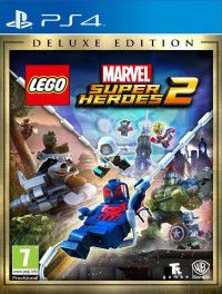 LEGO Marvel: Super Heroes 2 Deluxe Edition Русская Версия (PS4)
