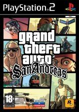 Игра Grand Theft Auto San Andreas для PS2