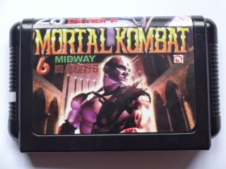 Mortal Kombat 6 (28 people) (Sega)