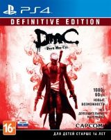 Купить Игру DmC Devil May Cry: Definitive Edition Русская Версия (PS4) на Playstation 4 диск