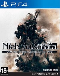 Купить Игру NieR: Automata. Game of the YoRHa Edition (PS4) на Playstation 4 диск