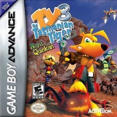 Ty the Tasmanian Tiger 3: Night of the Quinkan Русская Версия (GBA)
