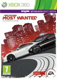 Need for Speed: Most Wanted 2012 (Criterion) (с поддержкой Kinect) (Xbox 360) USED Б/У