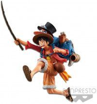 Фигурка Banpresto THREE BROTHERS FIGURE: Манки Д. Луффи (A:MONKEY.D.LUFFY) Ван-Пис (One Piece) (BP16139P) 11 см