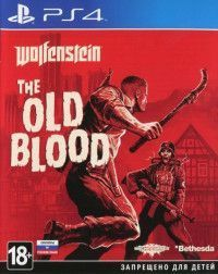 Игра Wolfenstein: The Old Blood Русская Версия (PS4) Playstation 4