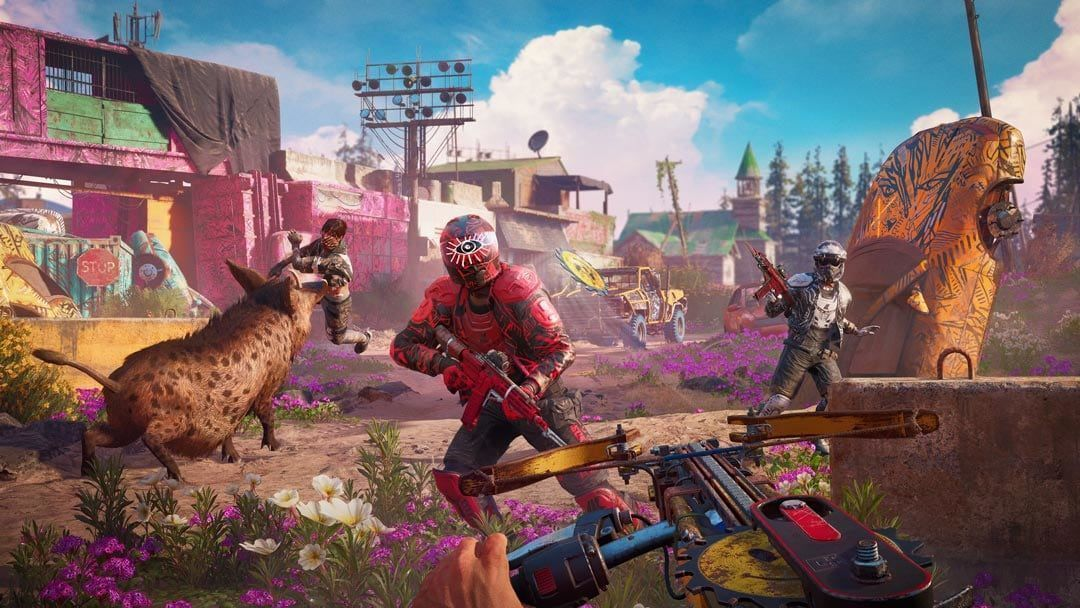 Far Cry: New Dawn Русская версия (PS4)