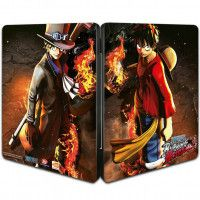 Купить Игру One Piece Burning Blood SteelBook Edition (PS4) на Playstation 4 диск