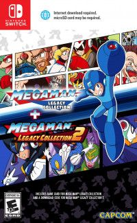 Купить игру Mega Man: Legacy Collection 1 + 2 Русская версия (Switch) диск