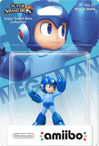 Amiibo: Интерактивная фигурка Мегамен (Mega Man) (Super Smash Bros. Collection) от Nintendo Switch