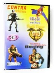 SK 5010 (5 In 1)Contra/Spider-Man/Eswat/Double Dragon 2: The Revenge/Boxing (Sega) для Sega