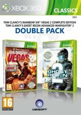 Tom Clancy's Rainbow Six: Vegas 2 + Tom Clancy's Ghost Recon: Advanced Warfighter 2 Double Pack (Xbox 360)