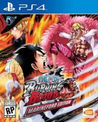 Игра One Piece Burning Blood Русская Версия (PS4) Playstation 4