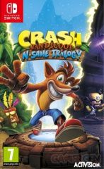 Купить игру Crash Bandicoot N. Sane Trilogy (Switch) диск