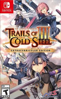 The Legend of Heroes: Trails of Cold Steel 3 (III) - Extracurricular Edition (Switch)